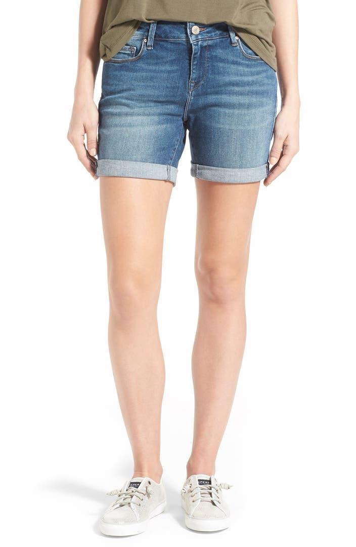 Mavi Jeans u0026#39;Pixieu0026#39; Denim Boyfriend Shorts | Nordstrom