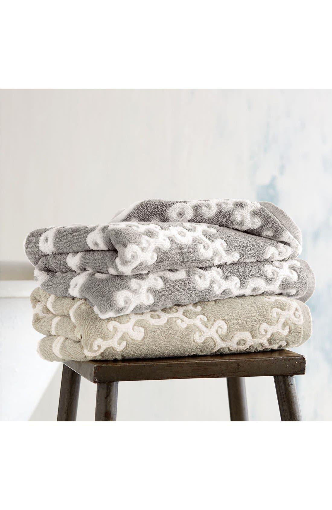 Alternate Image 2  - John Robshaw 'Totem' Turkish Cotton Bath Towel