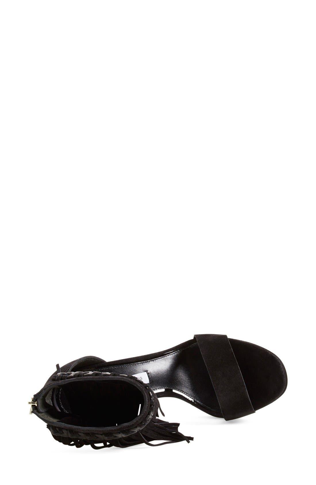 Alternate Image 3  - Diane von Furstenberg 'Sian' Fringe Sandal