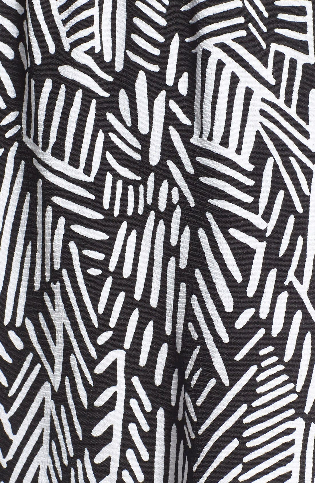 Alternate Image 5  - BP. Woven Print Shorts