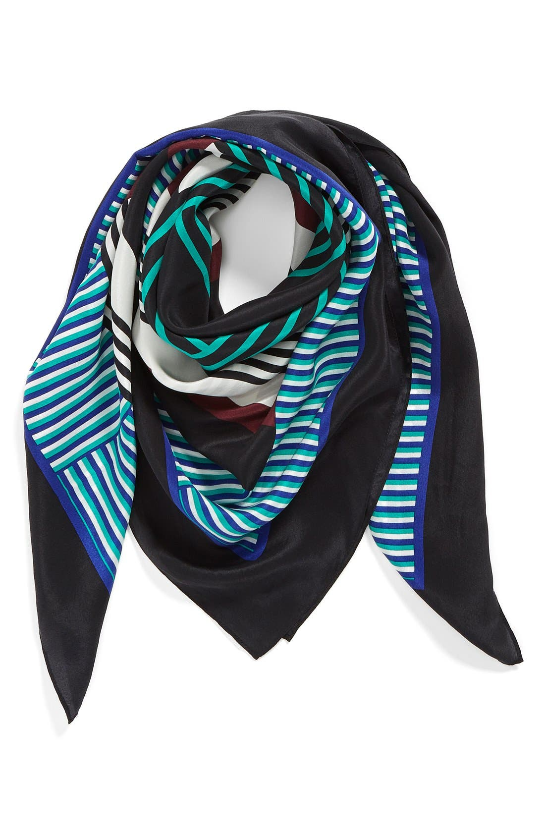 Alternate Image 1 Selected - Halogen® 'Starboard' Sandwashed Silk Scarf