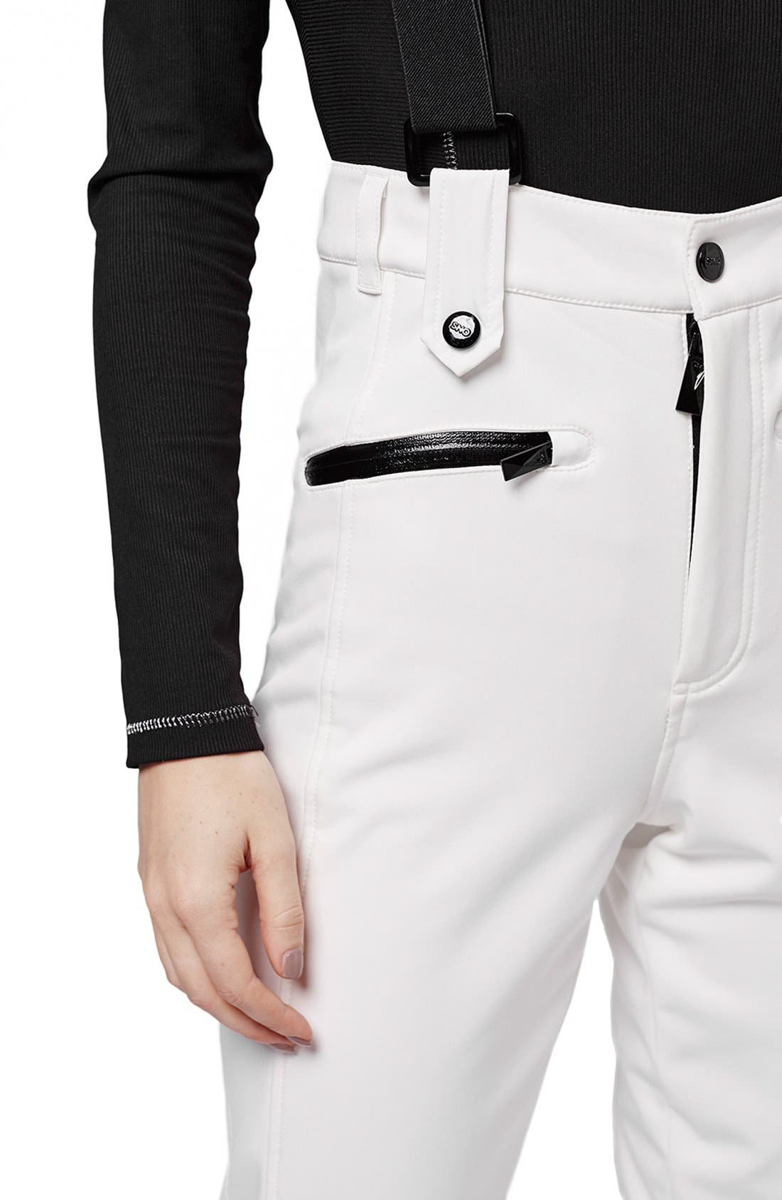 Alternate Image 6  - Topshop 'Tyrian' Overall Ski Pants