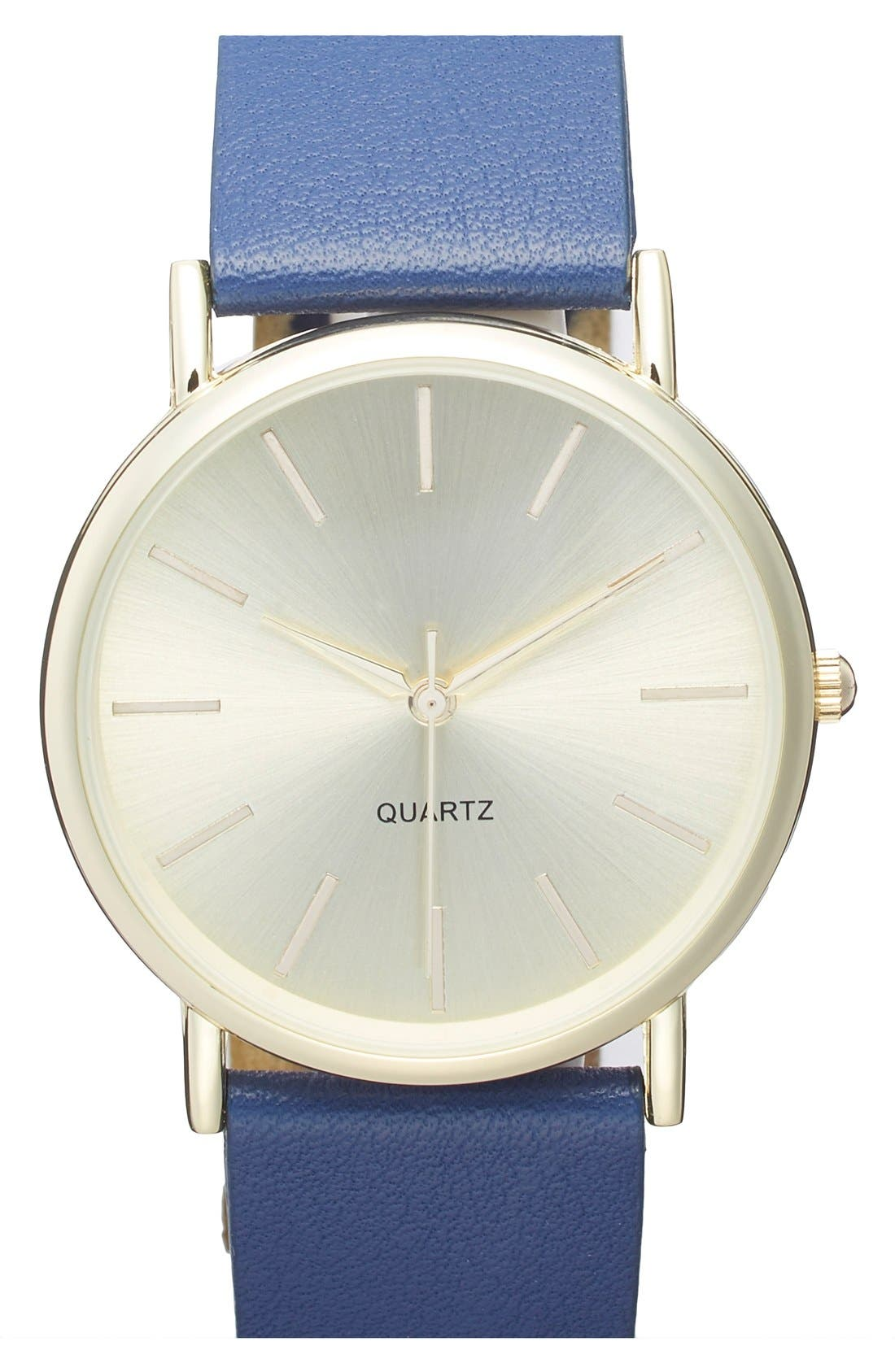 Alternate Image 1 Selected - BP. Round Face Watch, 35mm