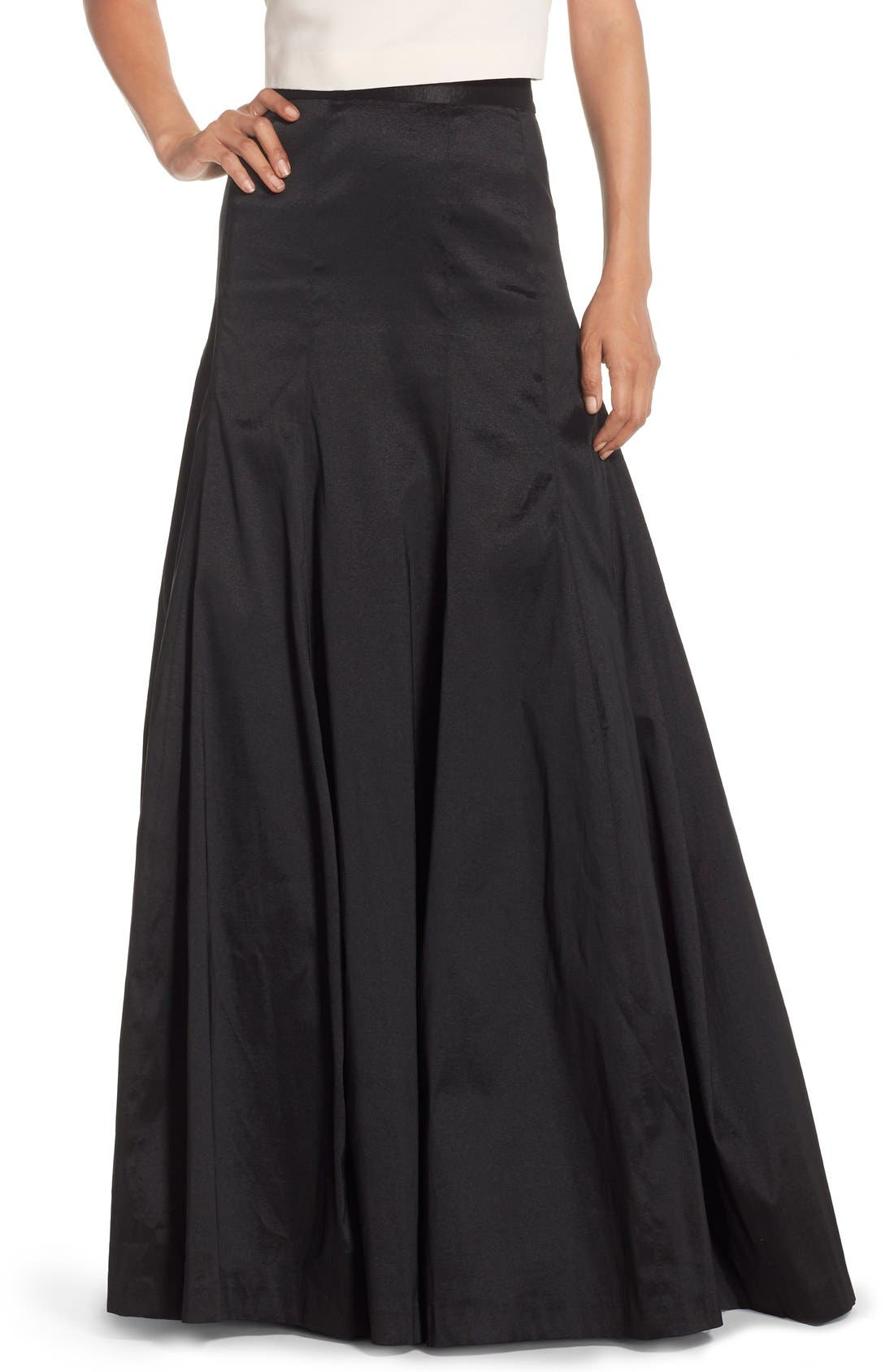 Alternate Image 1 Selected - Eliza J Taffeta Mermaid Ball Skirt