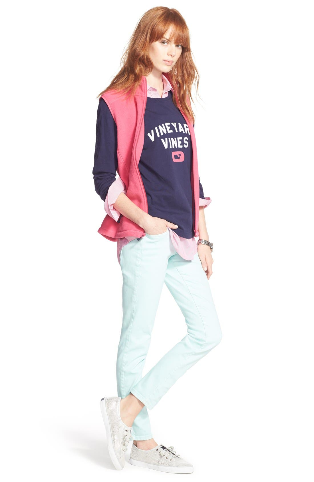 Alternate Image 2  - Vineyard Vines 'Collegiate' Long Sleeve Tee