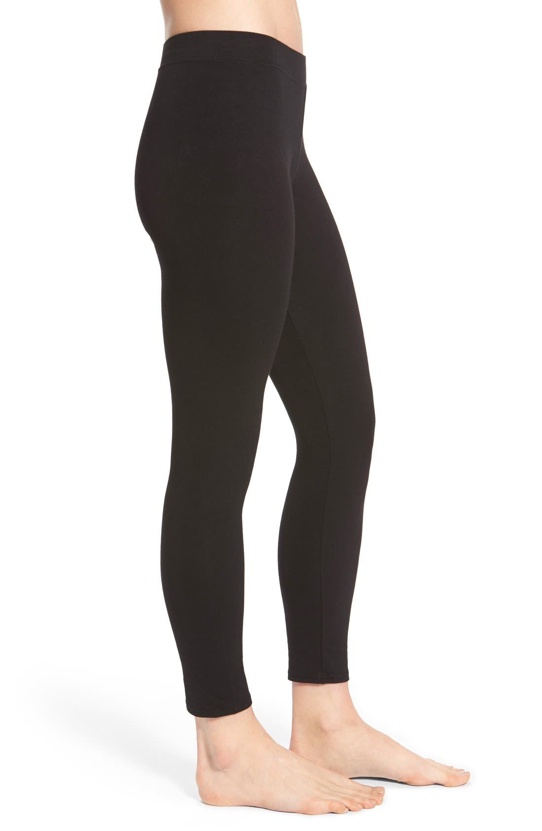 Alternate Image 3  - Nordstrom Go-To Skimmer Ankle Leggings