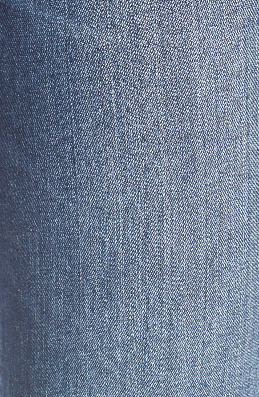 Alternate Image 5  - Mavi Jeans 'Serena' Stretch Low Rise Skinny Jeans (Indigo Nolita)