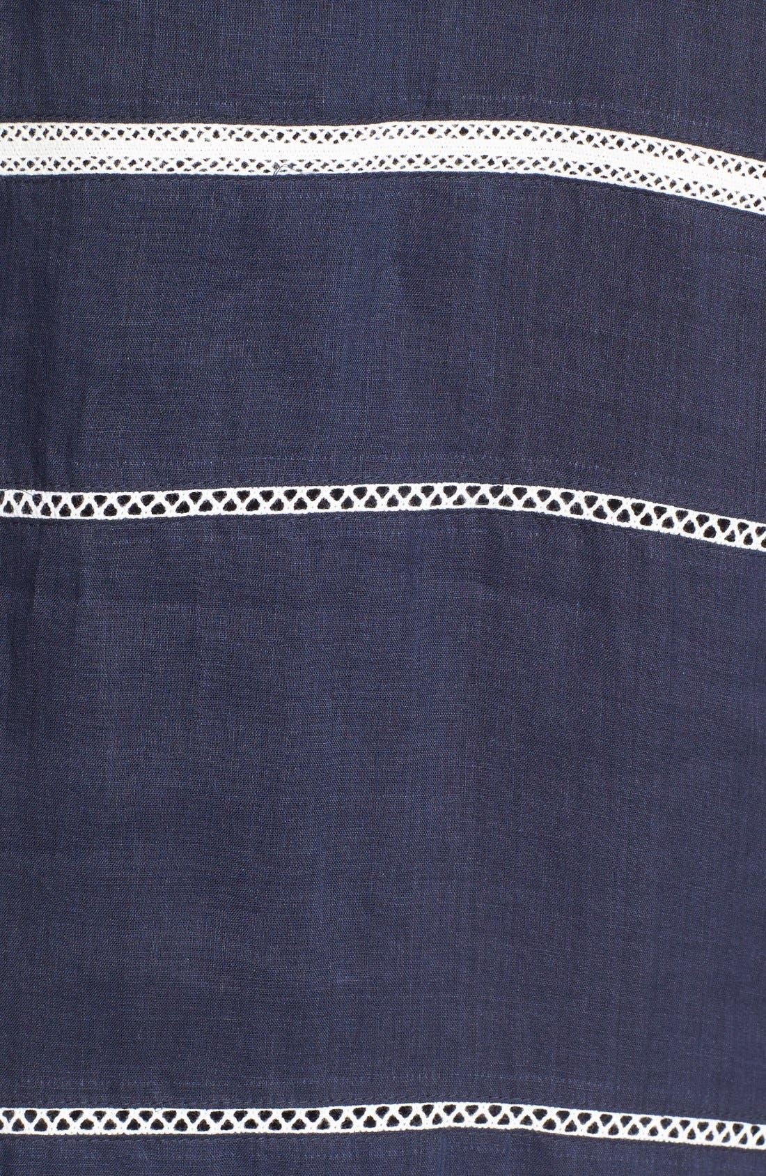 Alternate Image 5  - Vince Lace Inset Popover Dress