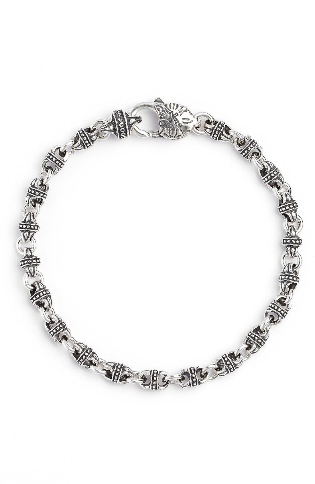 Konstantino Silver Classics Link Bracelet