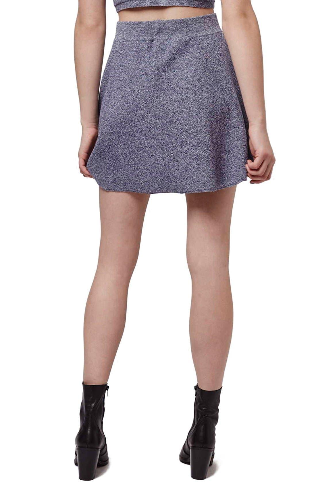 Alternate Image 3  - Topshop Flippy A-Line Skirt