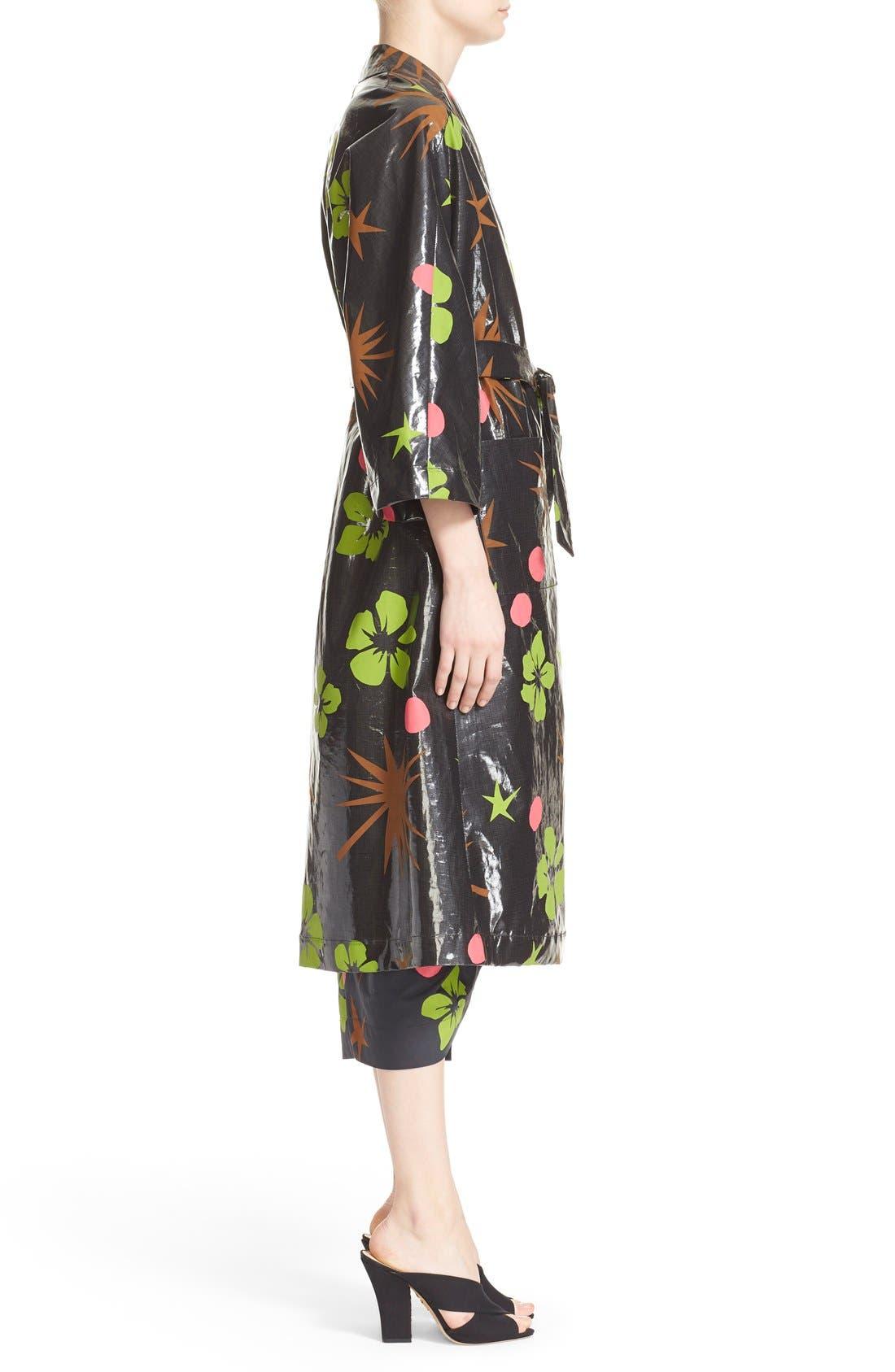 Alternate Image 5  - Isa Arfen Coated Linen Robe Coat