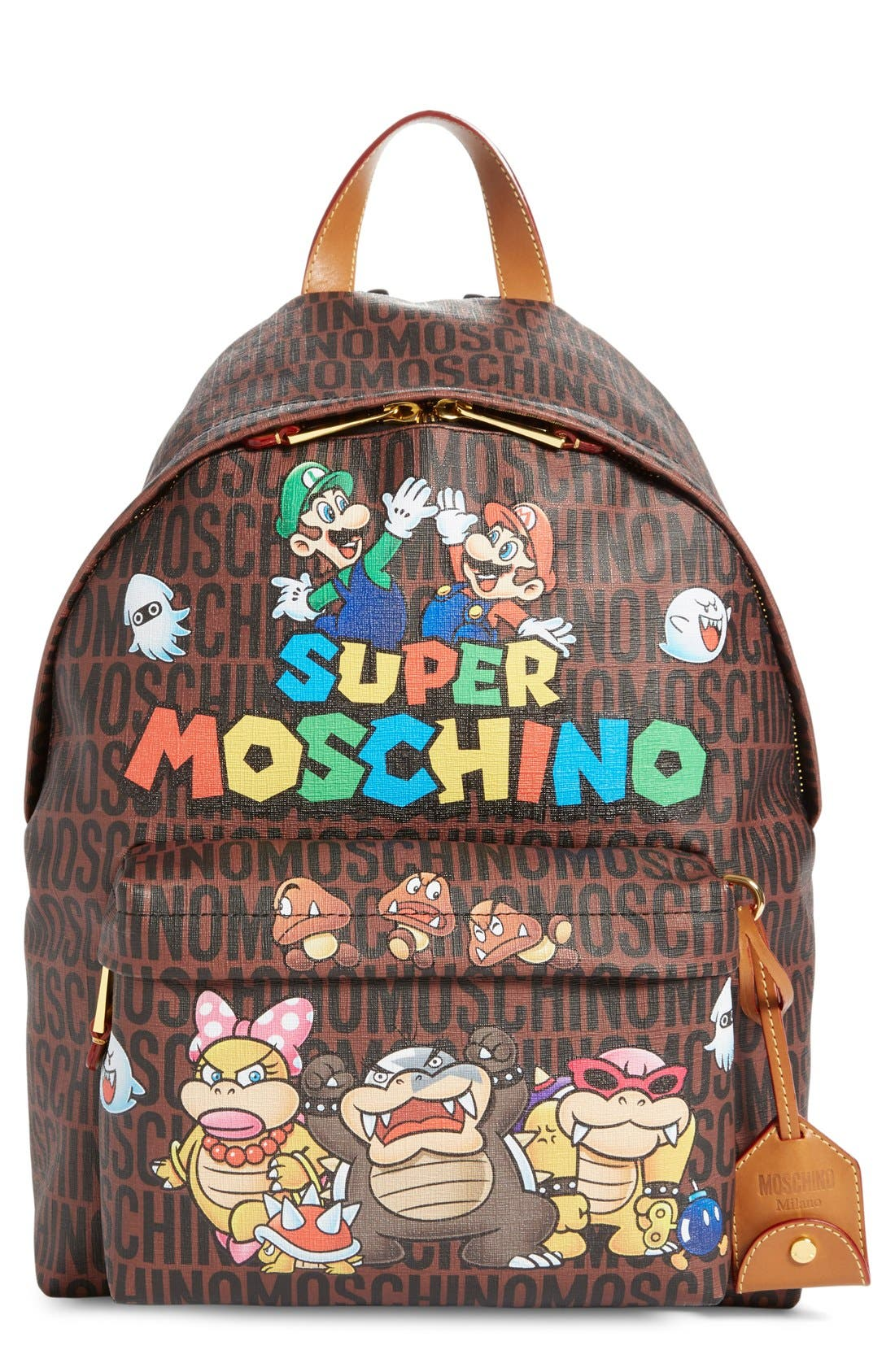 Alternate Image 1 Selected - Moschino 'Nintendo Super Mario Bros.®' Backpack