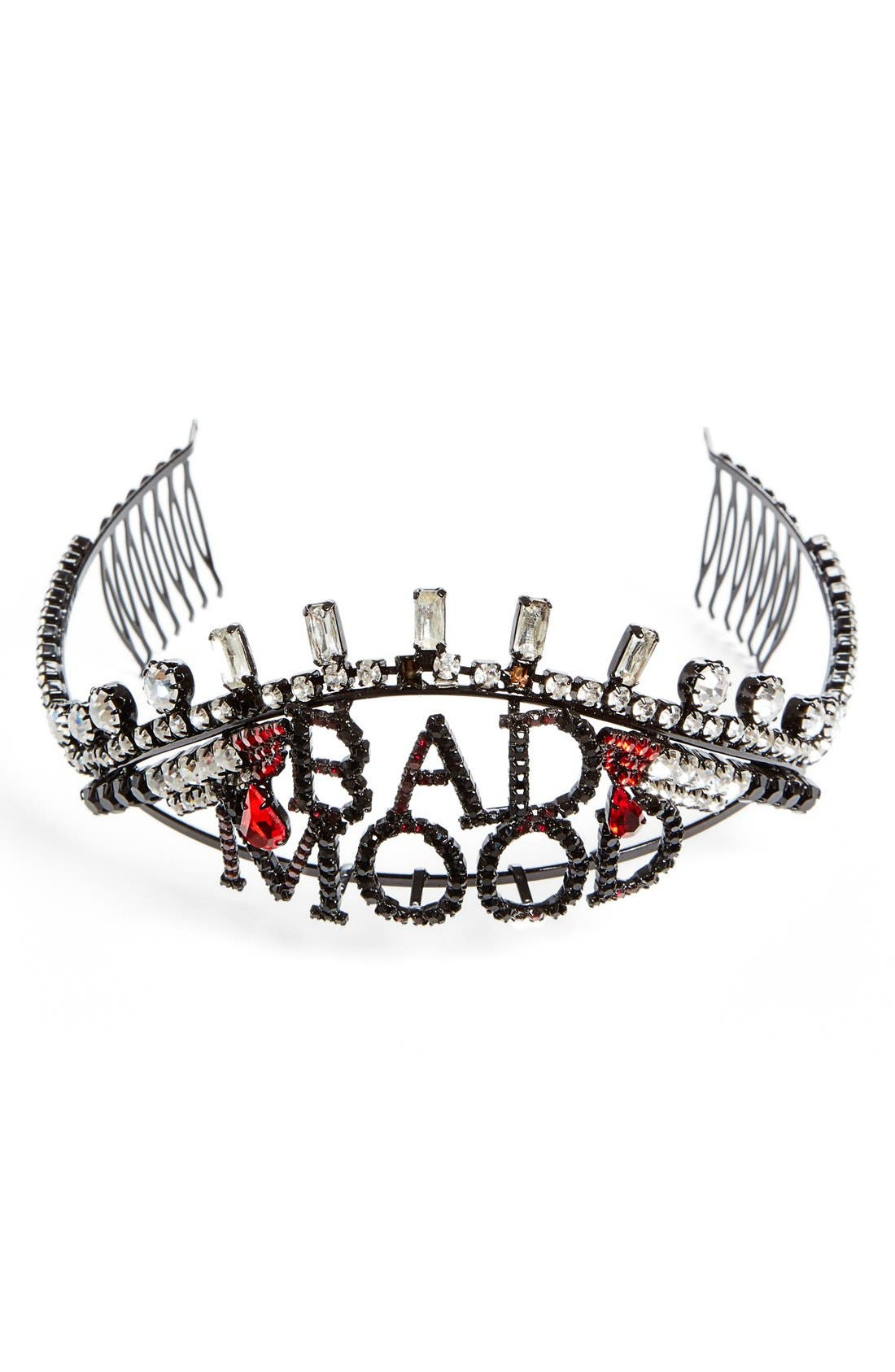 Alternate Image 1 Selected - Ashley Williams 'Bad Mood' Crystal Tiara