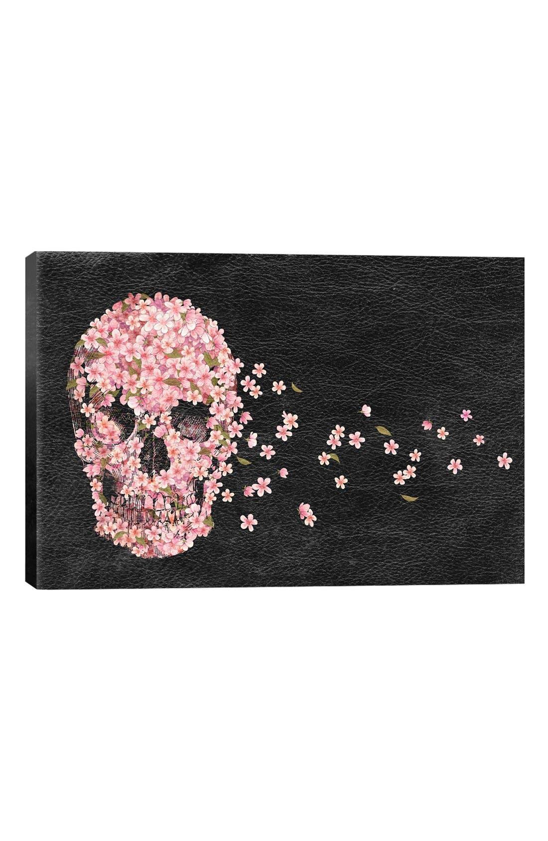 ICANVAS 'A Beautiful Death' Leather Art Print