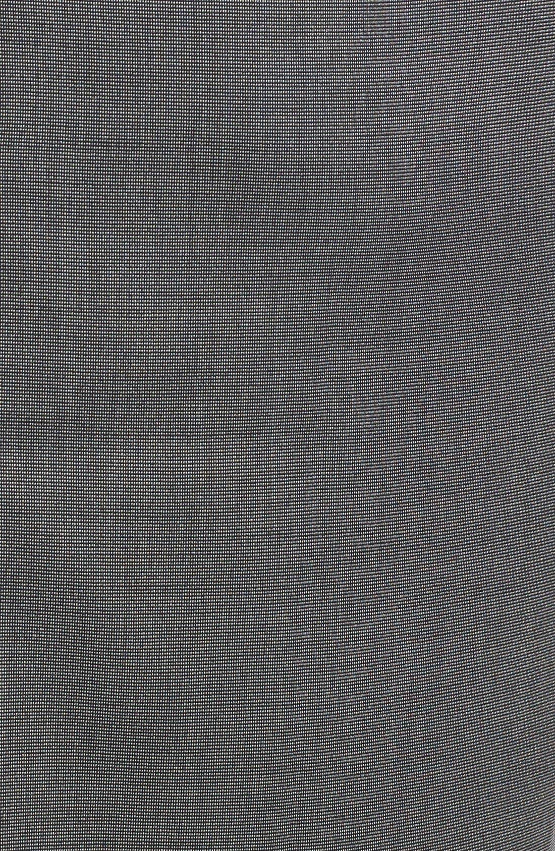 Alternate Image 5  - Halogen® 'Mini Grid' Stretch Suit Skirt (Regular & Petite)