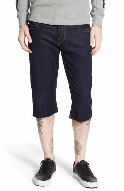 True Religion Brand Jeans 'Ricky' Denim Cutoff Shorts