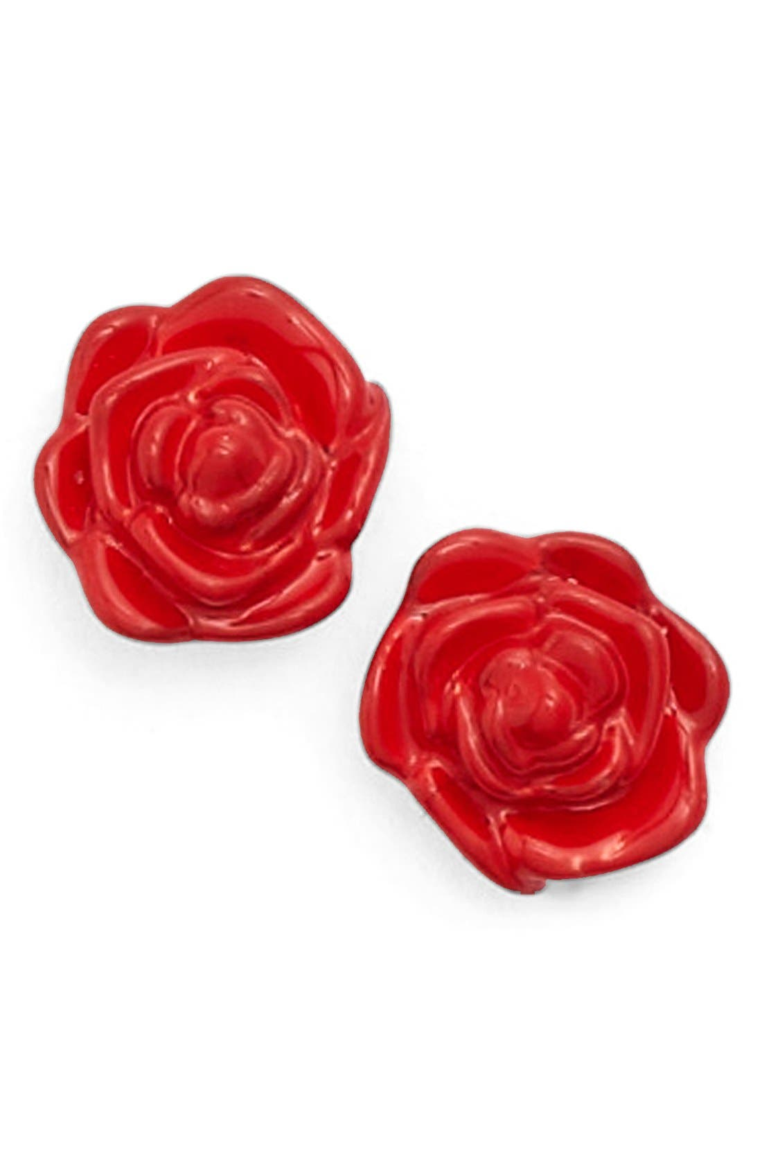 Main Image - kate spade new york 'rosy outlook' stud earrings