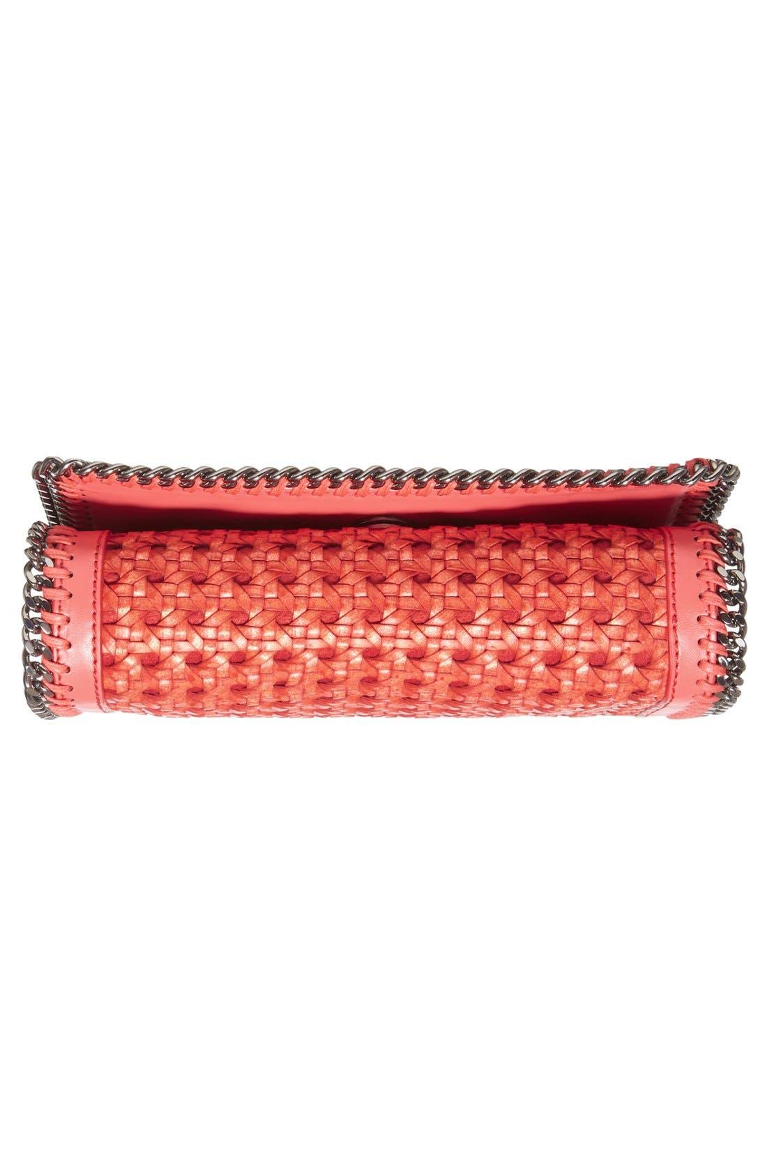 Alternate Image 6  - Stella McCartney 'Falabella - Caned' Faux Leather Crossbody Bag
