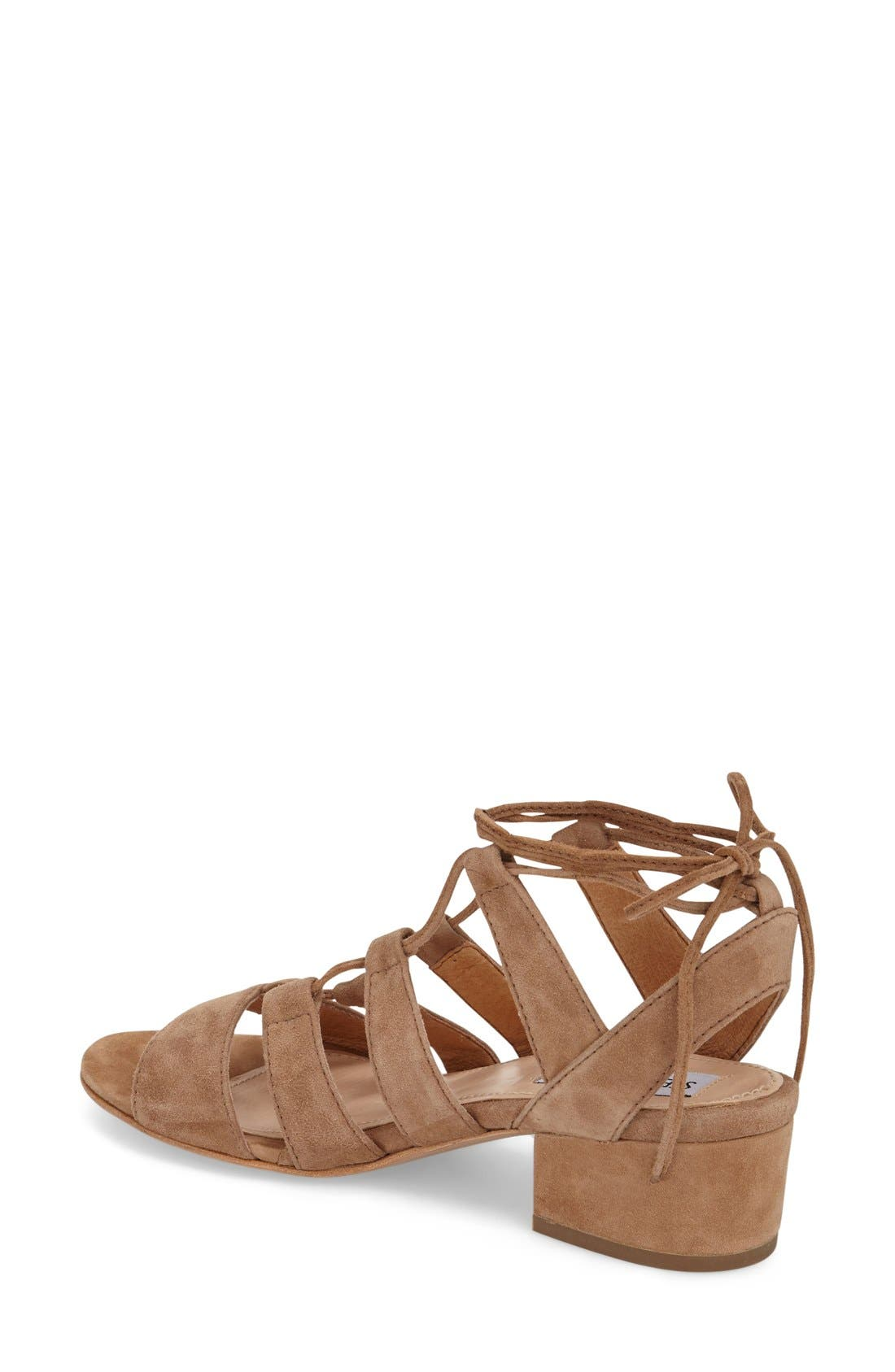Alternate Image 2  - Steve Madden 'Kitty' Ghillie Sandal (Women)