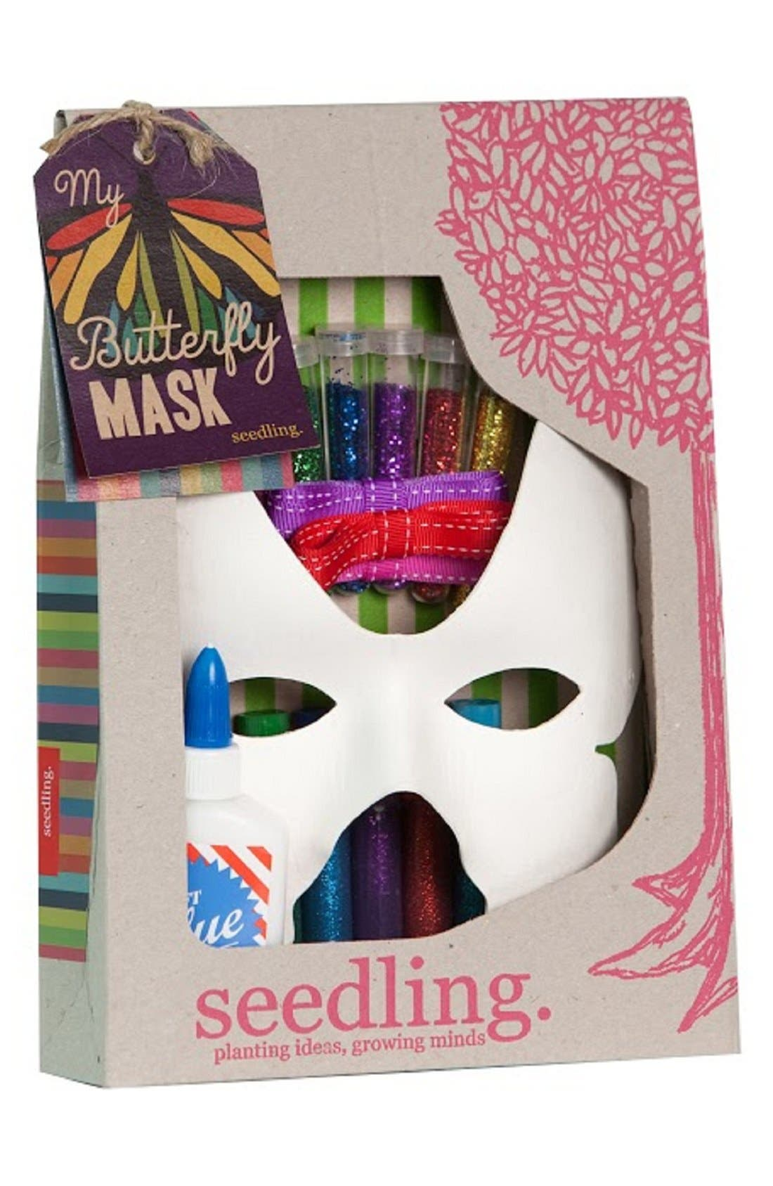 seedling 'My Butterfly Mask' DIY Craft Kit