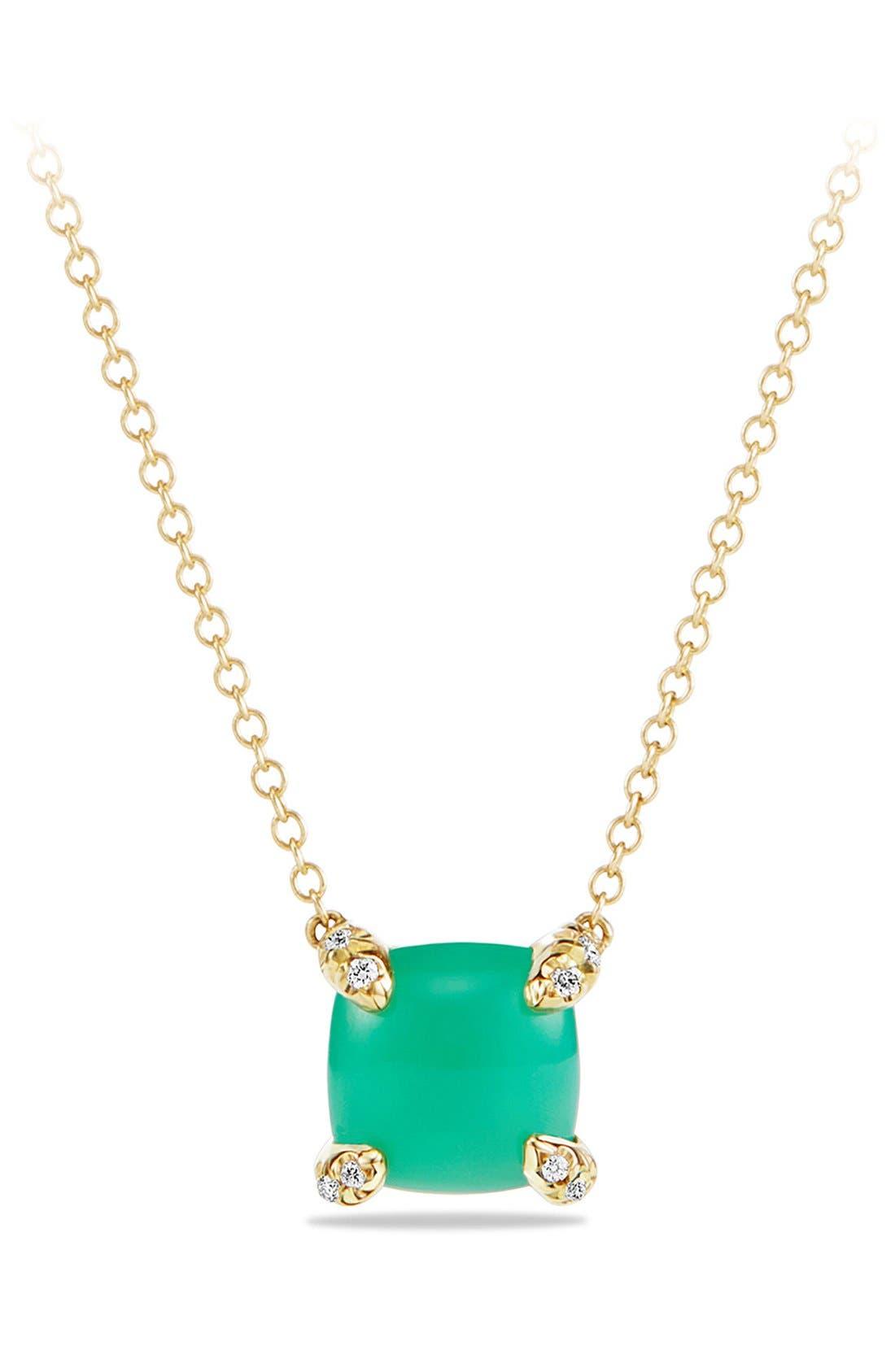 DAVID YURMAN 'Châtelaine' Pendant Necklace with Semiprecious