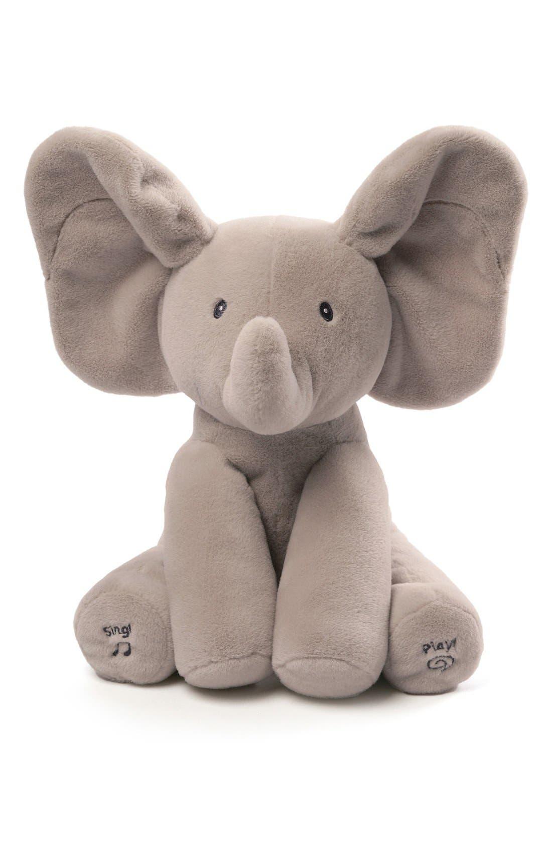Alternate Image 1 Selected - Baby Gund 'Flappy The Elephant' Musical Elephant