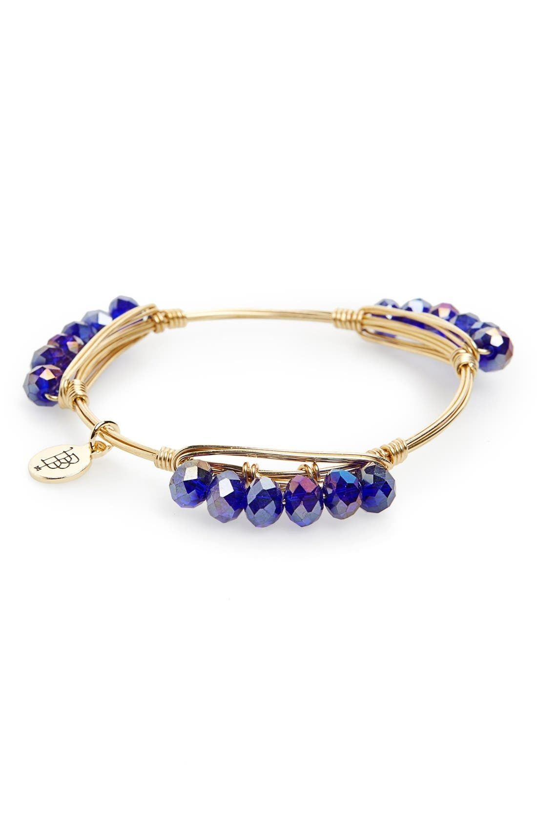 Alternate Image 2  - Bourbon and Boweties 'Millie' Crystal Bracelet