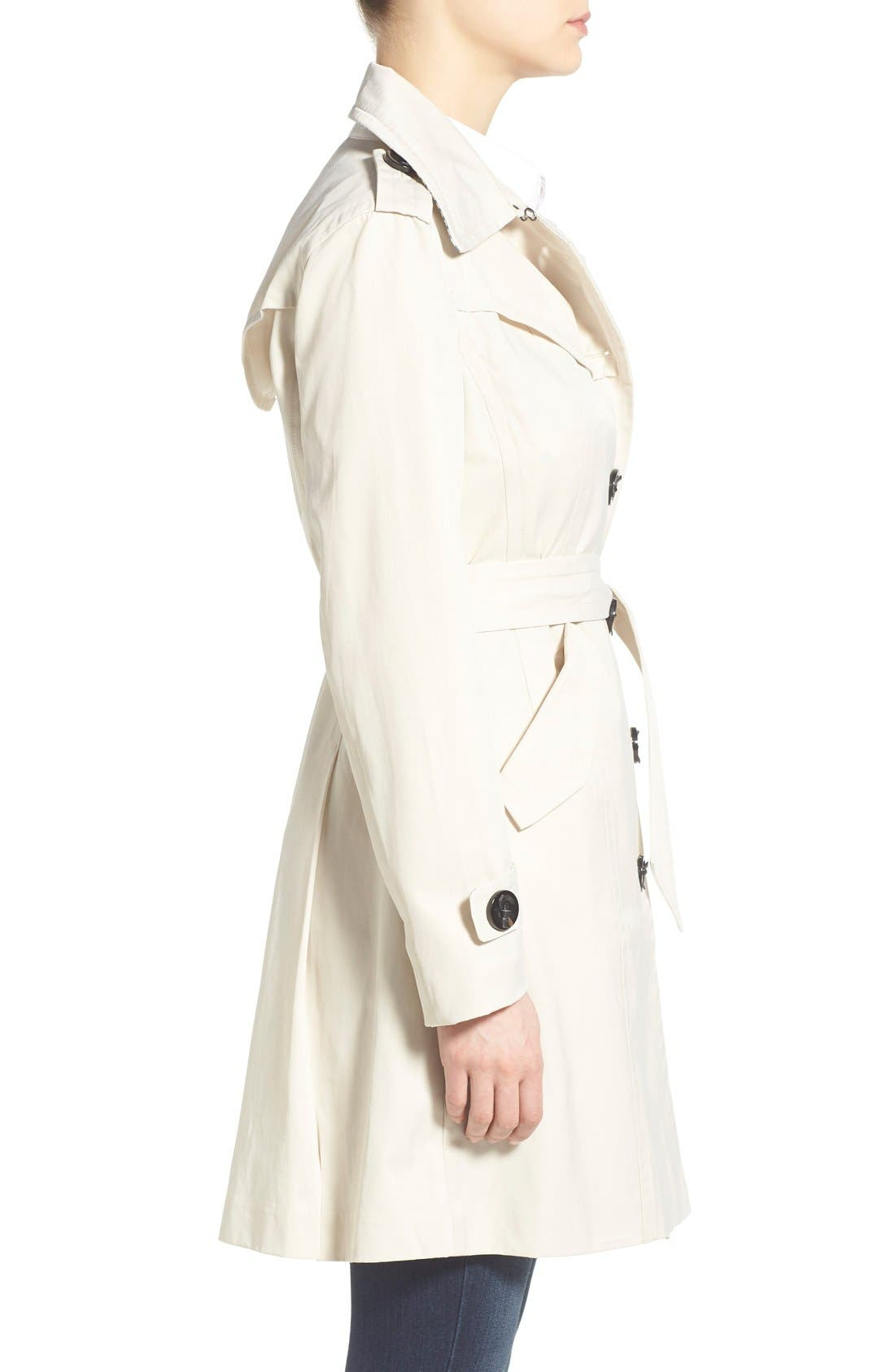Alternate Image 3  - Nanette Lepore Twill Trench Coat
