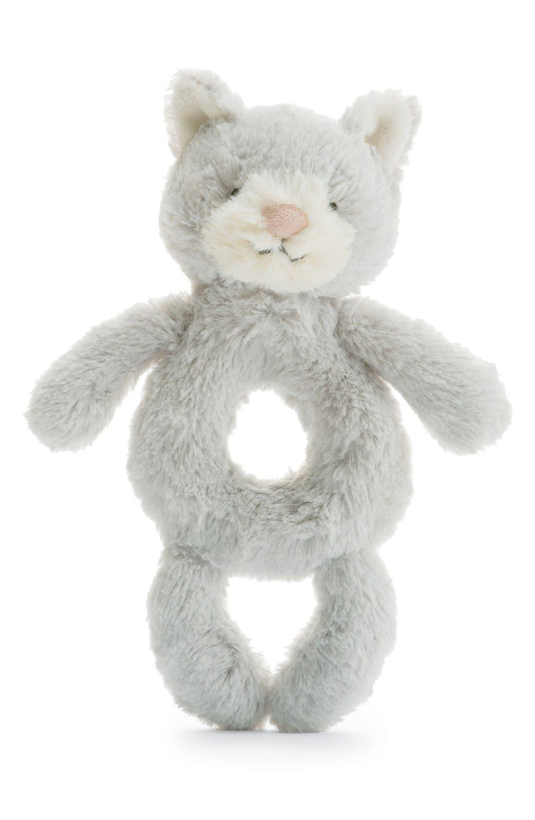 Jellycat 'Kitty' Grabber Rattle