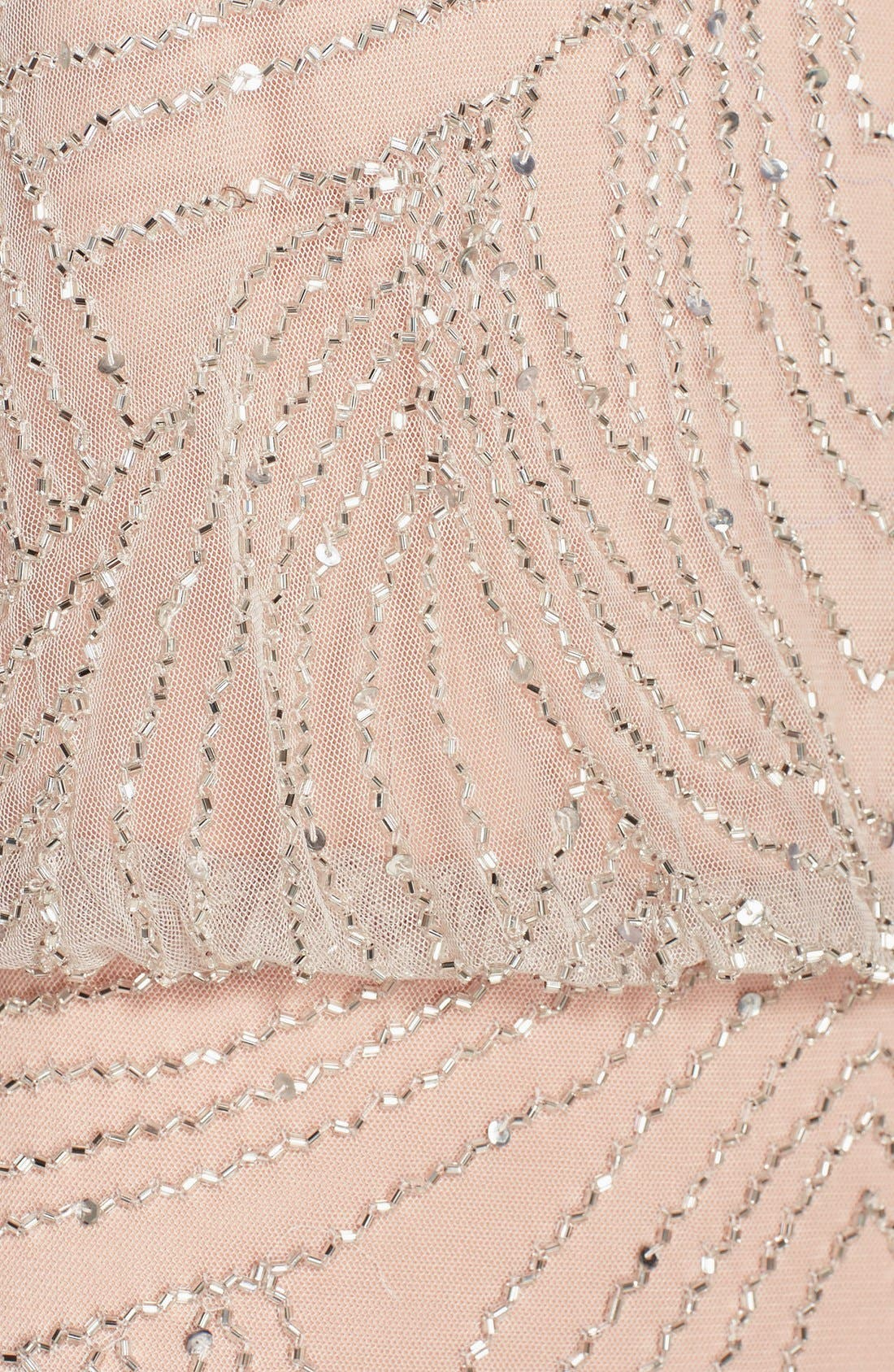 Alternate Image 5  - Adrianna Papell Beaded Chiffon Blouson Gown