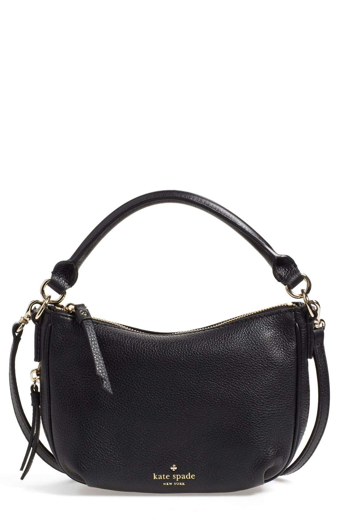 Alternate Image 1 Selected - kate spade new york 'cobble hill - mini ella' leather crossbody bag