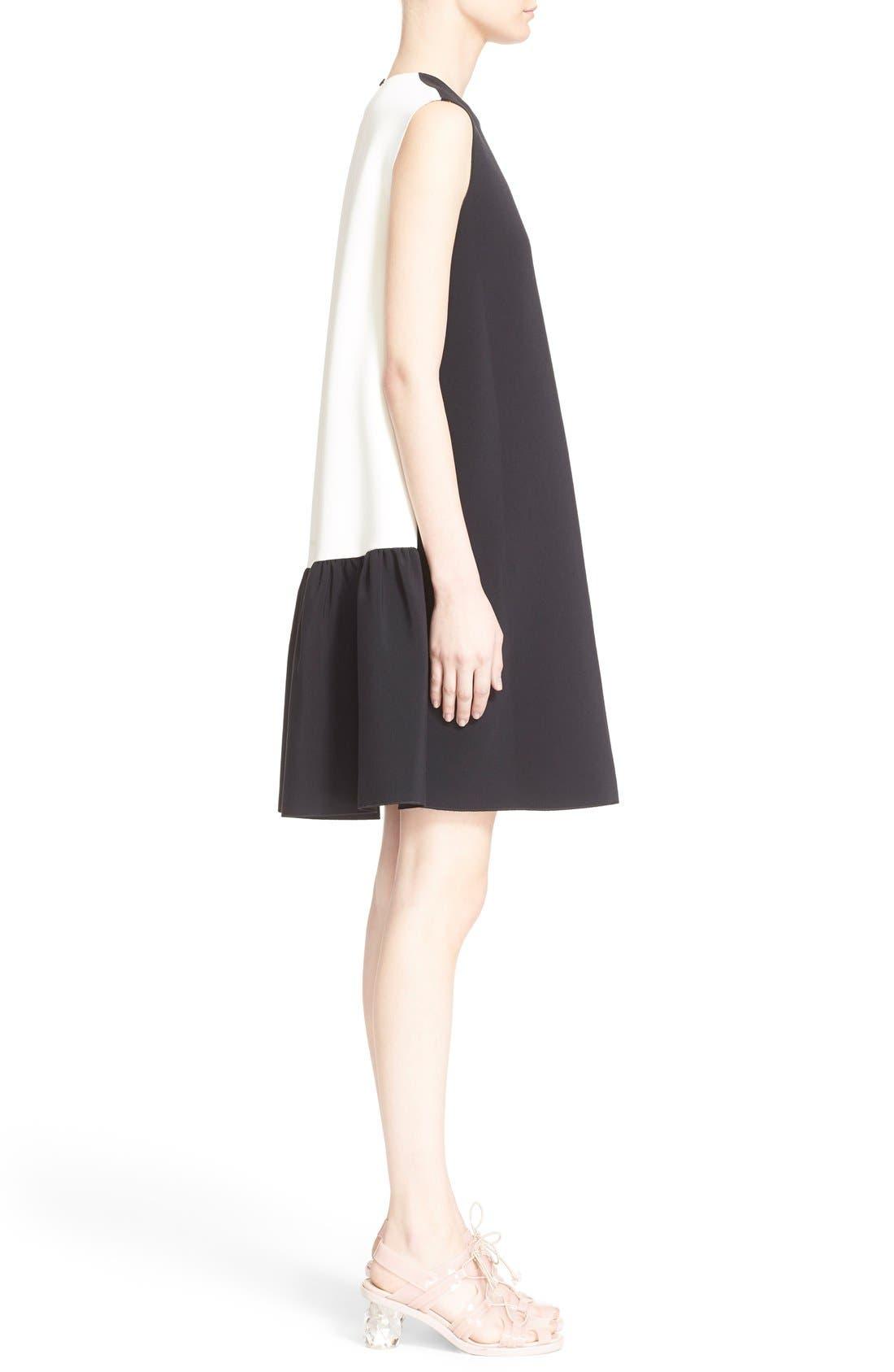 Alternate Image 5  - Roksanda 'Fuji' Colorblock Ruffle Hem Trapeze Dress