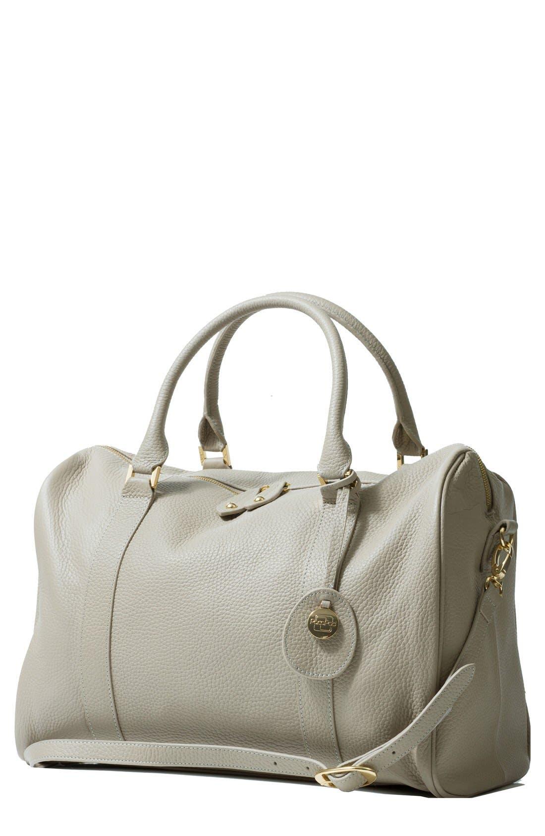 PacaPod 'Firenze' Leather Diaper Bag