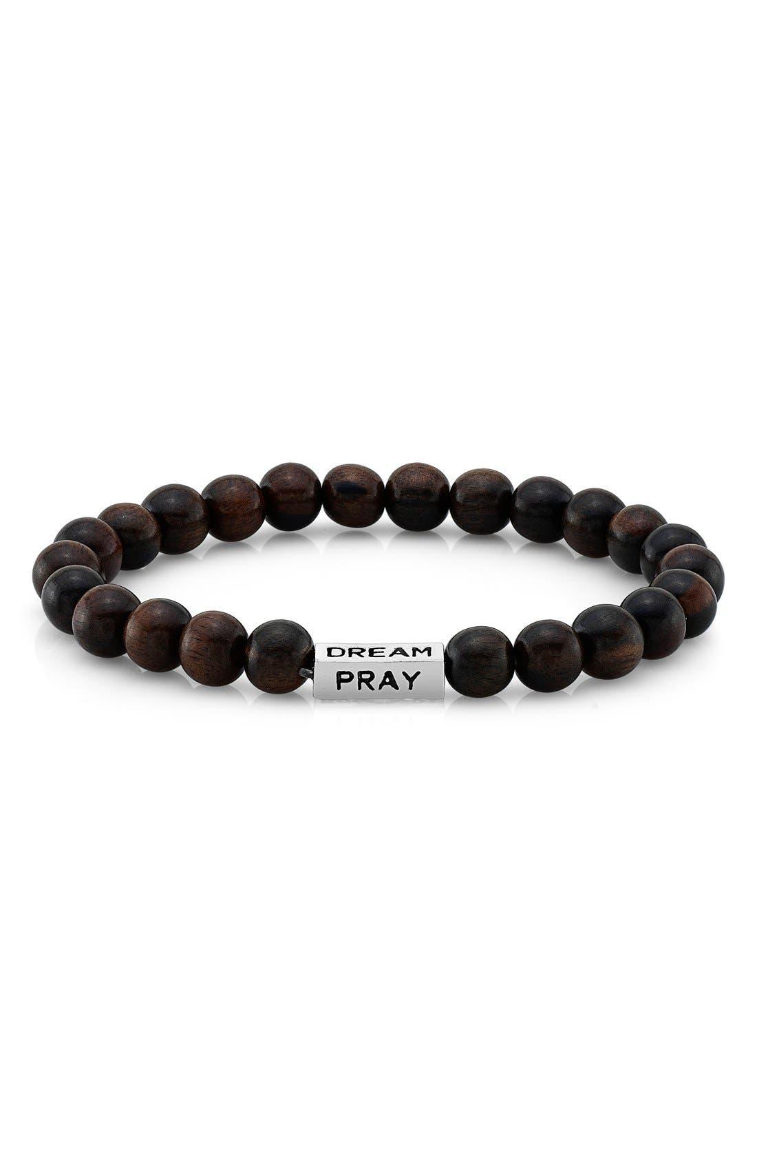 Alternate Image 2  - Room 101 Wood Bead Bracelet