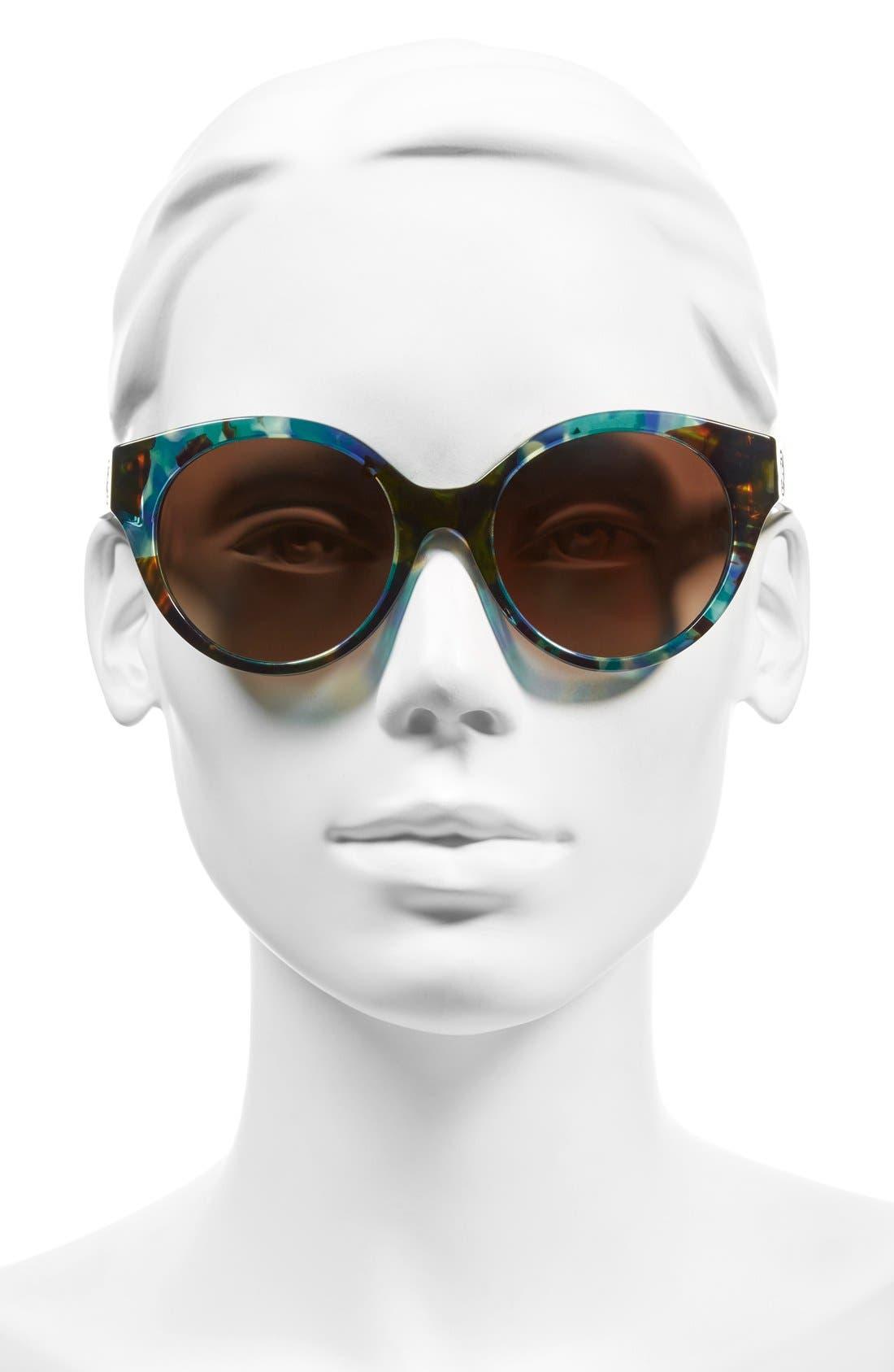 Alternate Image 2  - Tory Burch 52mm Polarized Cat Eye Sunglasses