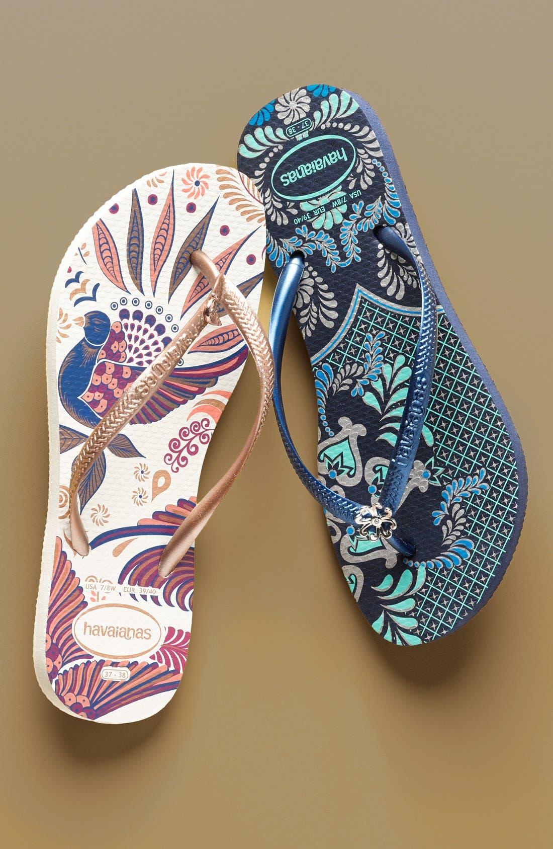 Alternate Image 5  - Havaianas 'Slim Thematic' Flip Flop (Women)