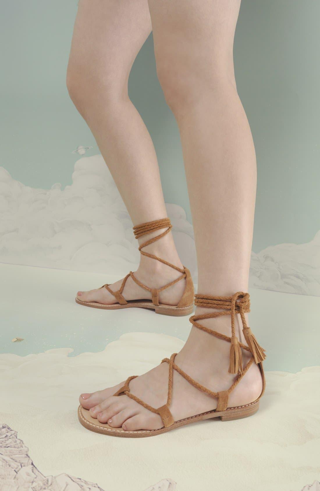 Alternate Image 6  - Joie 'Bailee' Lace-Up Sandal (Women)