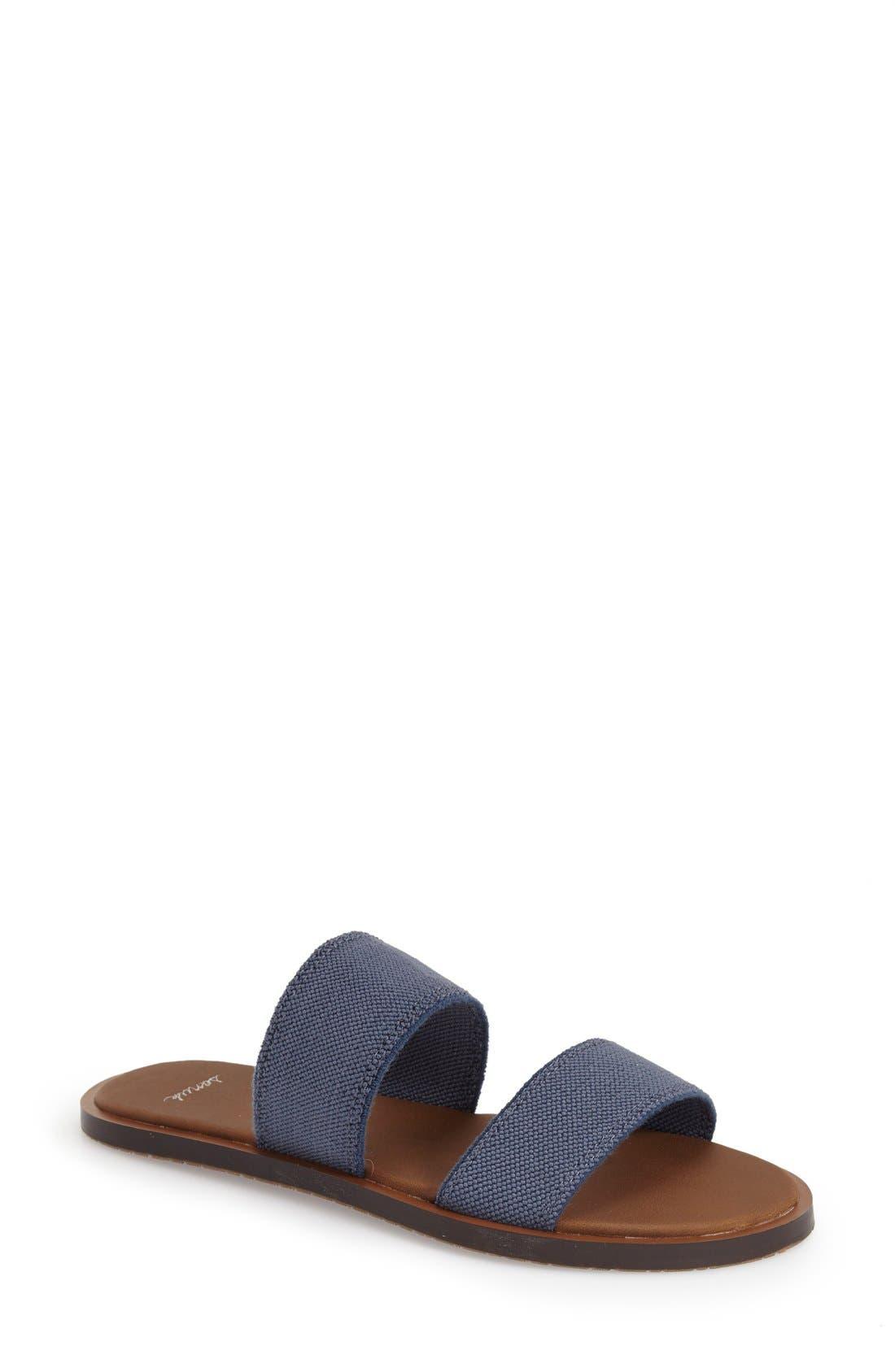 Sanuk 'Yoga Gora Gora' Slide Sandal (Women) | Nordstrom