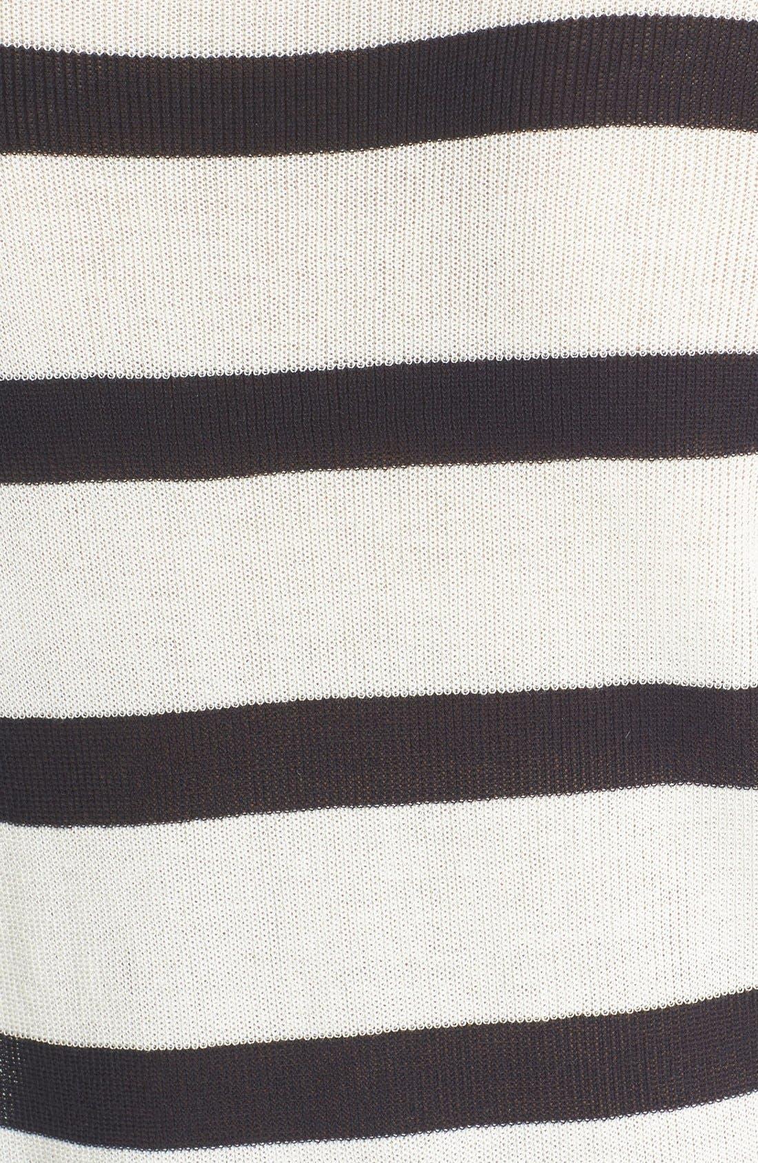 Alternate Image 5  - A.L.C. 'Riley' Stripe Cotton Sweater