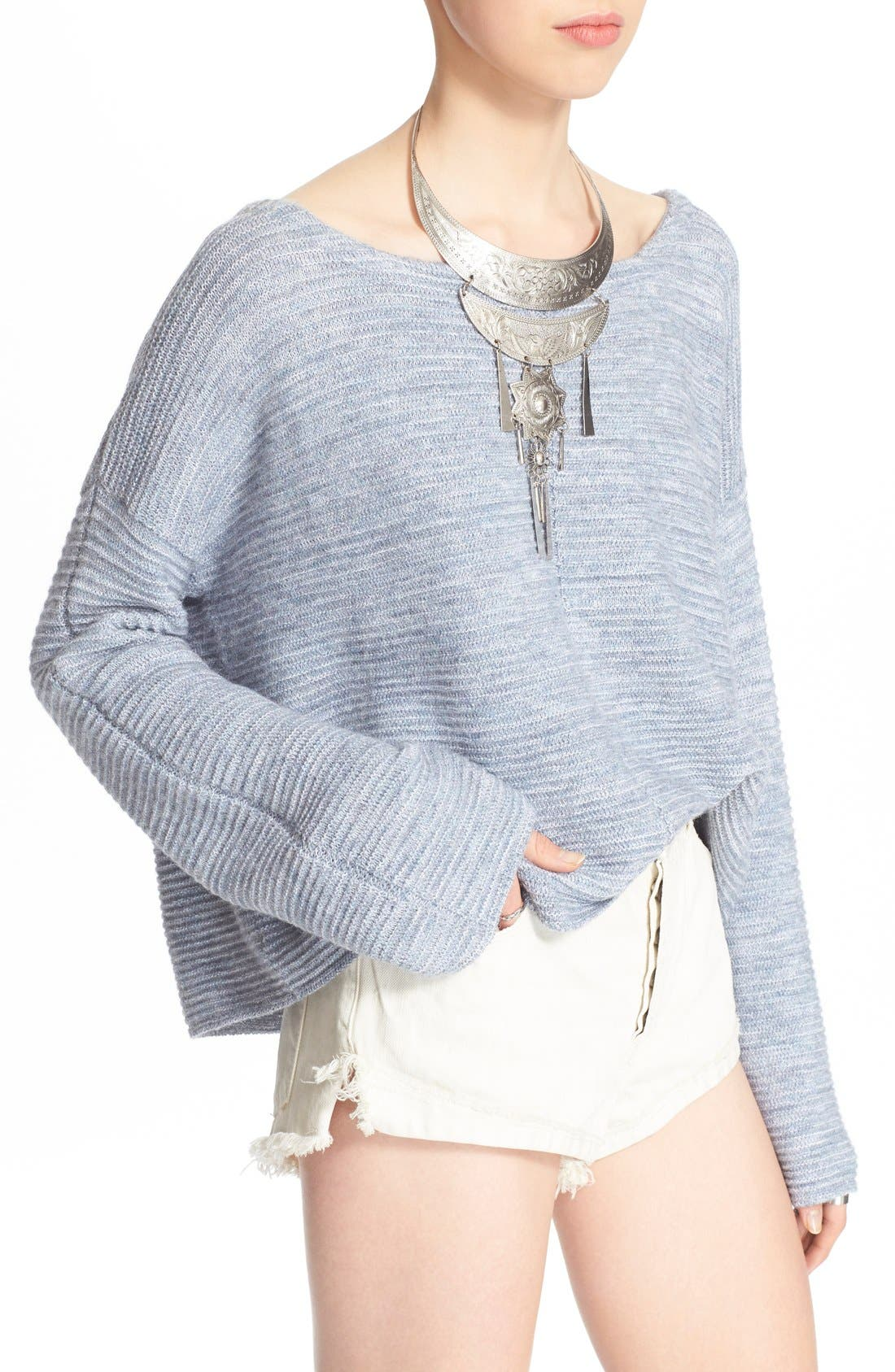 Alternate Image 4  - Free People 'Ever Cozy' Alpaca & Cotton Pullover