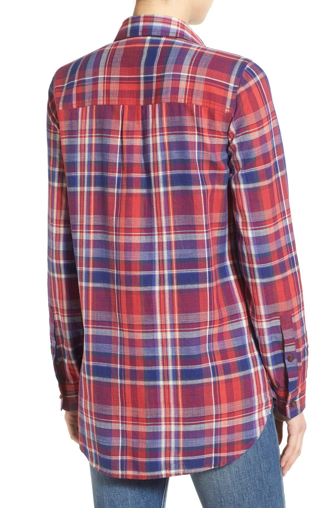 Alternate Image 2  - Madewell 'Ex-Boyfriend - Kentwood Plaid' Shirt