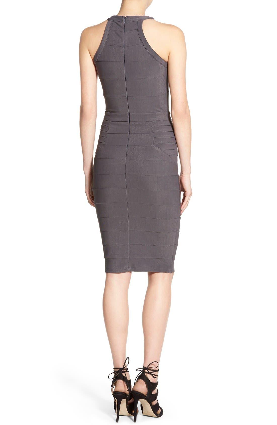 Alternate Image 2  - Missguided Cutout Bandage Body-Con Dress