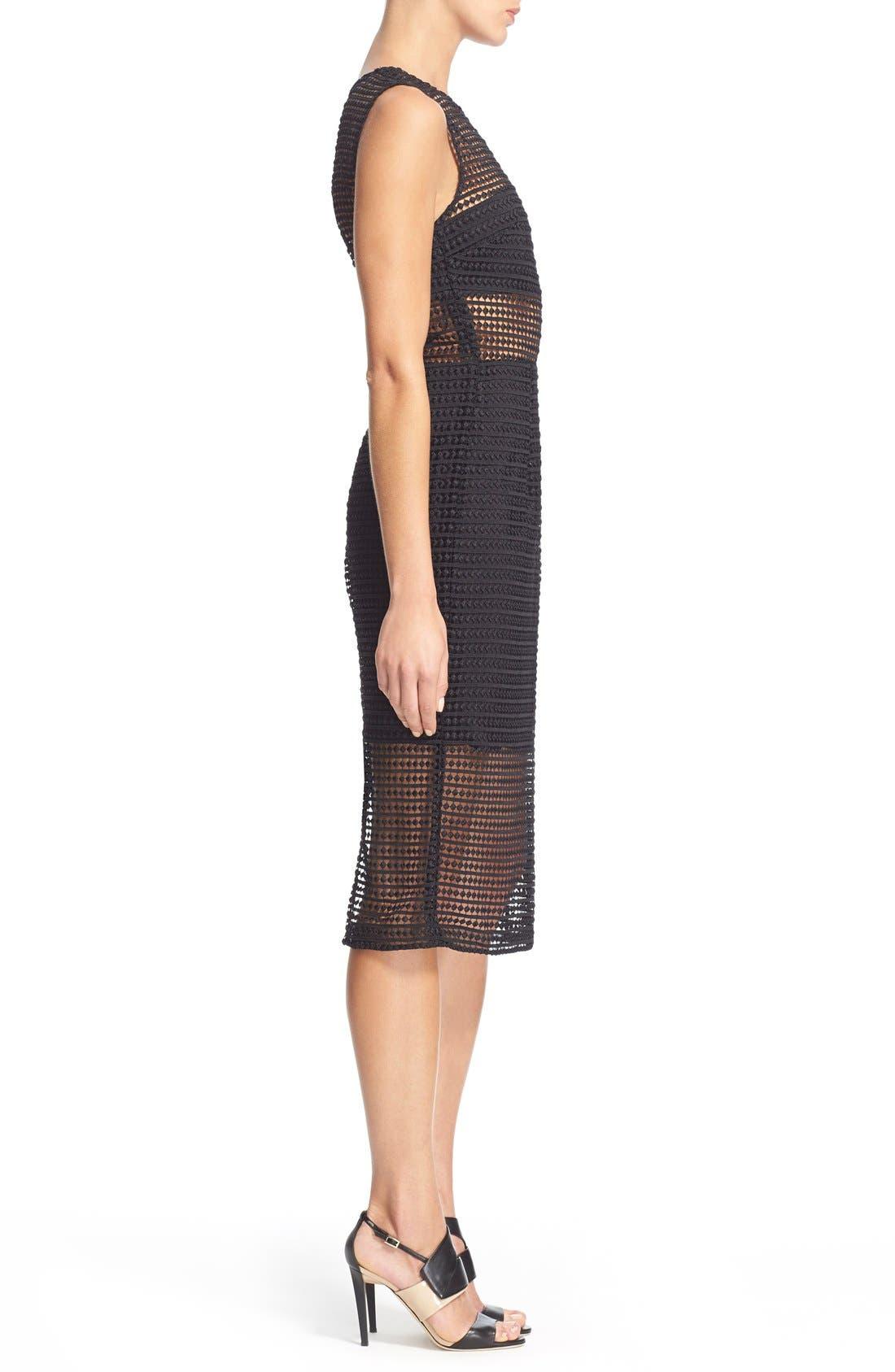 Alternate Image 3  - NICHOLAS Dot Lace Sheath Dress