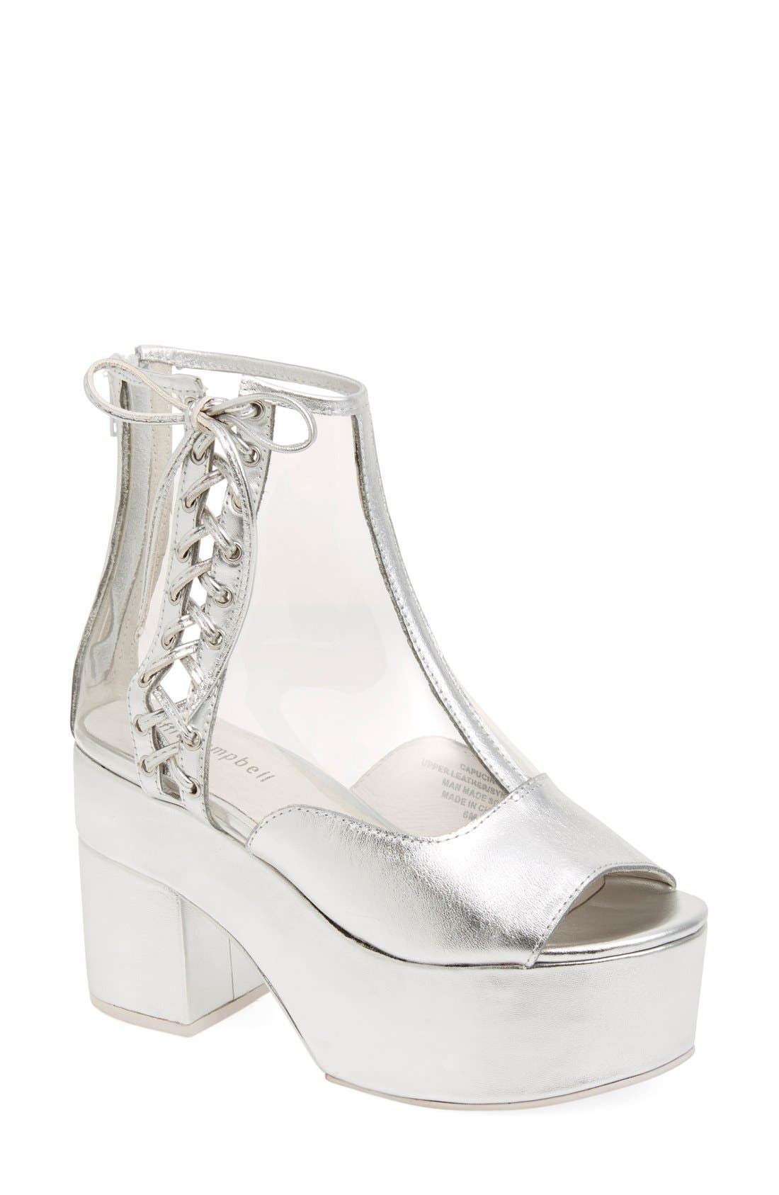 Alternate Image 1 Selected - Jeffrey Campbell 'Capucine' Platform Bootie (Women)
