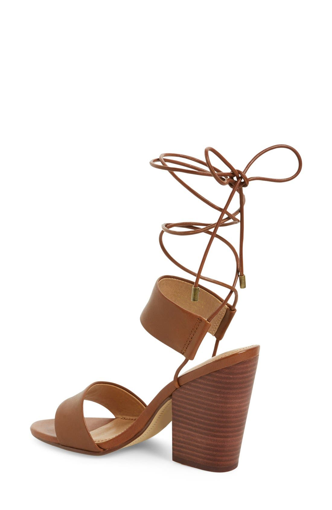 Alternate Image 2  - Splendid 'Kenya' Wraparound Lace Sandal (Women)