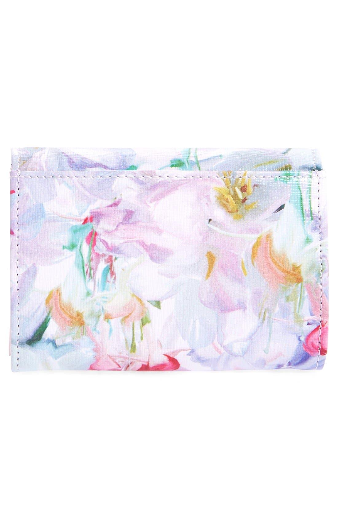 Alternate Image 4  - Ted Baker London 'Hanging Garden' Floral Print Leather Wallet