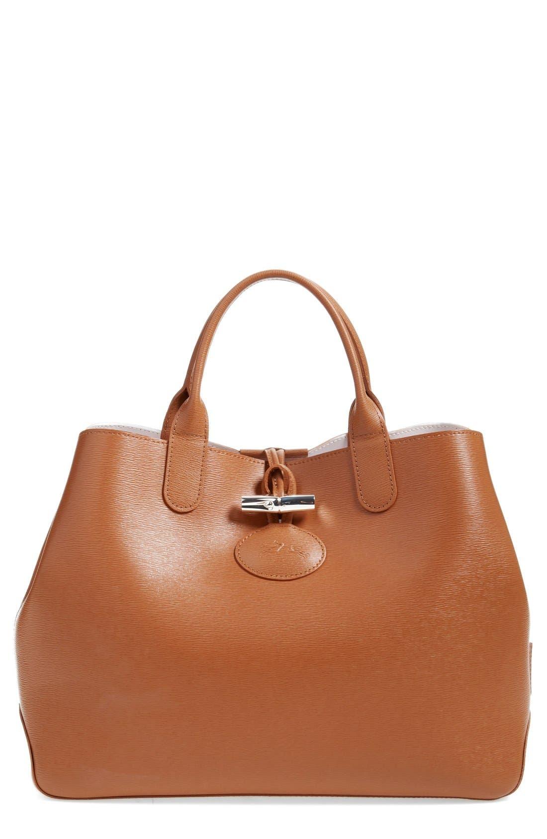 Alternate Image 1 Selected - Longchamp 'Roseau' Reversible Tote