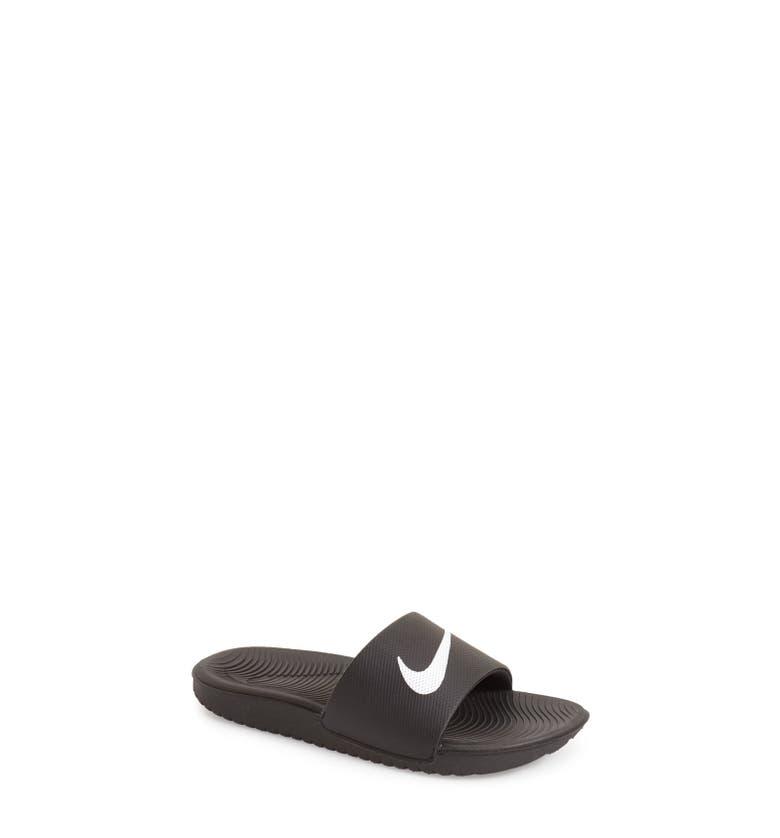 Nike Kawa Slide Sandal Toddler Little Kid Amp Big Kid
