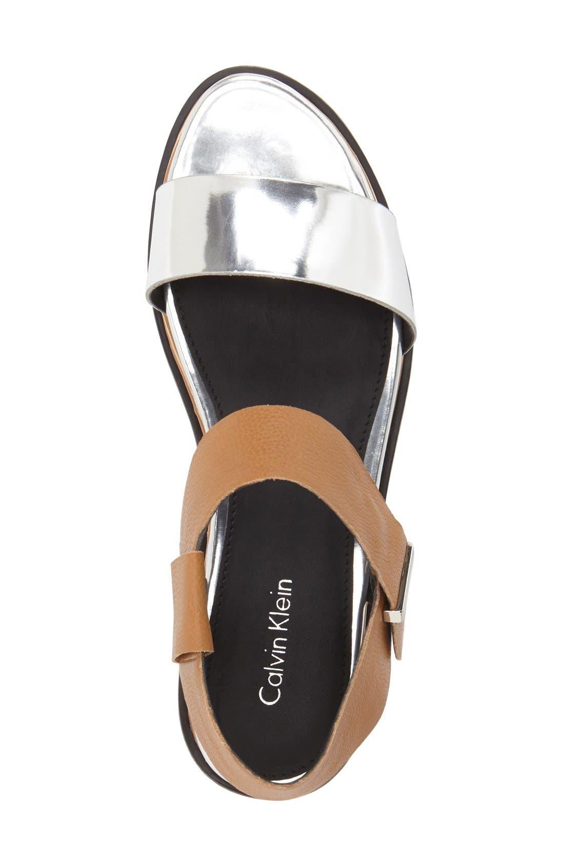 Alternate Image 3  - Calvin Klein 'Cadan' Demi Wedge Sandal (Women)