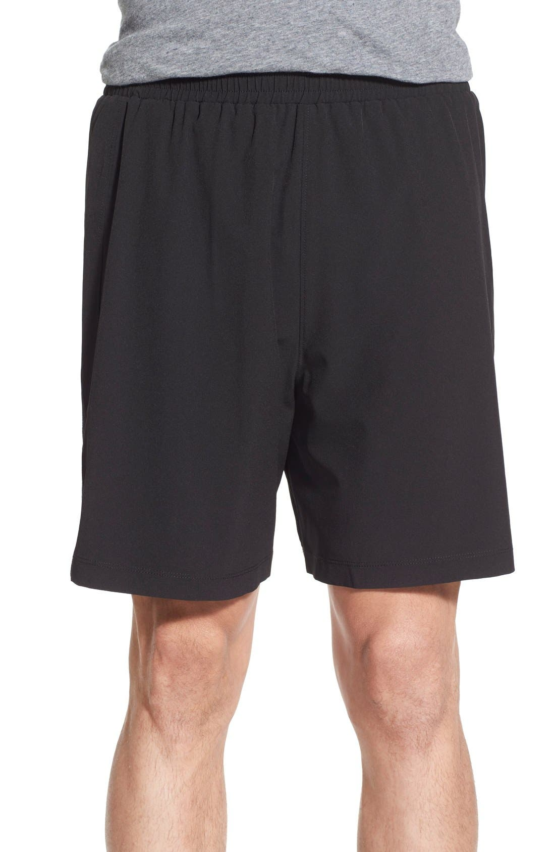 IBEX 'Pulse' Stretch Merino Wool Athletic Shorts